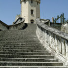 Picture - Stairs leading to a tower at Chateau St Aignan in Orleans.