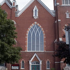 Picture - Classic architecture of Church in St. Albans, Vermont.