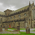 Picture - St Canice Cathedral in Kilkenny.