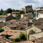 Picture - View over the town of St Emilion.