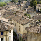 Picture - View over Saint Emilion.