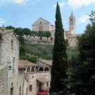 Picture - St Francis Basilica in Assisi.