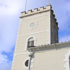 Picture - A tower from St George's Cathedral in Kingstown.