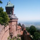 Picture - The castle of Haut Koenigsbourg at St Hippolyte.