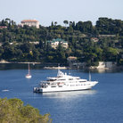 Picture - Yacht at St Jean Cap Ferrat.