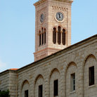Picture - Exterior view of St Joseph's Church in Nazareth.