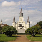Picture - Plaza D' Armas in New Orleans.