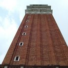 Picture - Bell tower in St Mark's square in Venice.