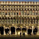 Picture - Facade along Procuratie vecchie from Piazza San Marco in Venice.