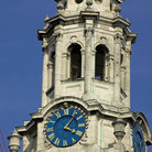Picture - Clock on the tower of St Martins-in-the-Fields in London.