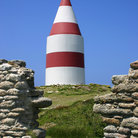 Picture - The Daymark on St. Martin's Island, Isles of Scilly.