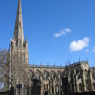 Picture - St Mary Redcliffe church in Bristol.