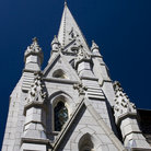 Picture - Exterior view of the St Mary's Cathedral in Halifax.