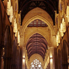 Picture - Interior of St Mary's Cathedral in Sydney.