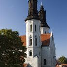 Picture - Towers of St Mary's Cathedral in Visby.