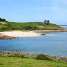 Picture - Pelistry beach on St Mary's Island, Isles of Scilly.