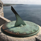 Picture - An ncient sundial at Saint Michael's Mount.