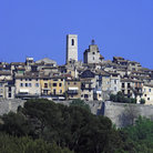 Picture - View of the old village of St Paul de Vence.