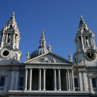 Picture - Ornate roof of St Paul's Cathedral in London.