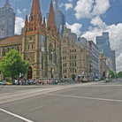 Picture - St Pauls Cathedral in Melbourne.