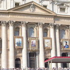 Picture - The front of St Peters Basilica.