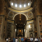 Picture - Interior of St Peters Basilica.