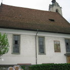 Picture - Side view of the Peterskirche Church in Lucerne.