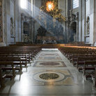 Picture - Interior view of St Peter's Basilica.