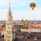 Picture - The tower of St Peter's Church in Munich.