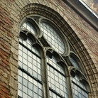 Picture - Window of St Pieterskerk in Utrecht.