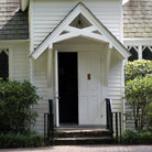 Picture - Entrance to the Christ Church at St. Simons Island.