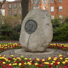Picture - Saint Stevens Green Monument in Dublin.