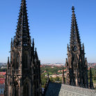 Picture - St Vitus's Cathedral in Prague.