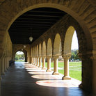 Picture - Corridor of Arches at Stanford University, Palo Alto.