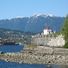 Picture - Lighthouse at Brockton Point in Vancouver.