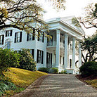 Picture - Stanton Hall Mansion (1857) in Natchez is one of larger antebellum mansions in USA.