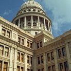 Picture - Close up of the Texas State Capitol building in Austin.