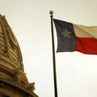 Picture - Texas flat at the State Capitol building in Austin.