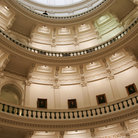 Picture - Inside the Texas State Capitol.