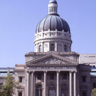 Picture - Indiana State Capitol building in Indianapolis.