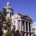 Picture - Side view of the Capitol building in Indianapolis.