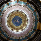 Picture - Main rotunda in the Iowa State Capitol building in Des Moines.