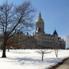 Picture - State Capitol in Hartford.