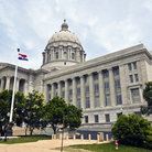 Picture - The State Capitol building in Jefferson City.