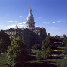 Picture - Grounds of State Capitol, Lansing.