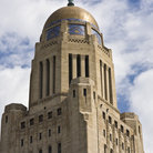 Picture - The tower of the State Capitol building in Lincoln.