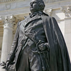 Picture - Statue of General Nathaniel Greene at the Rhode Island State Capitol building in Providence.