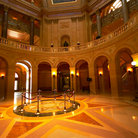 Picture - Interior of the Minnesota State Capitol building in St Paul.
