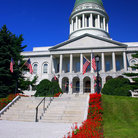 Picture - Maine State House in Augusta.