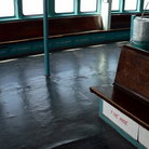Picture - Interior of Staten Island Ferry, New York City.